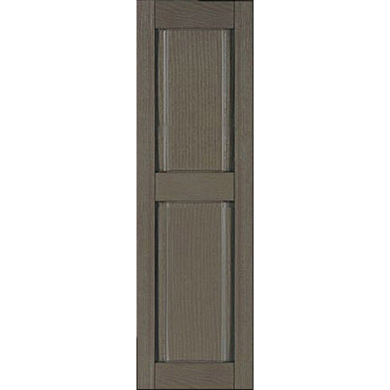 Classic panel custom vinyl shutters for 18 inch wide exterior shutters