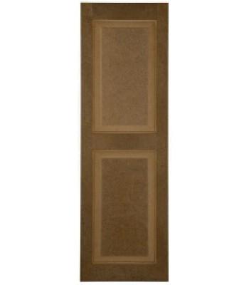 Raised Panel Composite Shutters