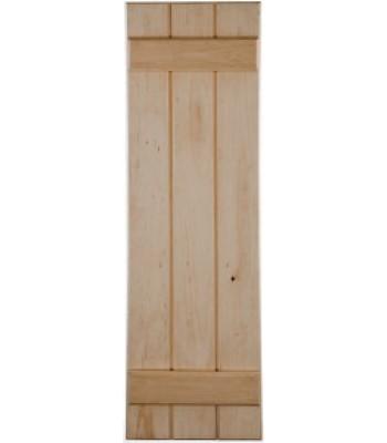 Closed Board & Batten Wood Shutters
