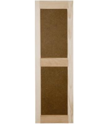 Flat Panel Wood Shutters