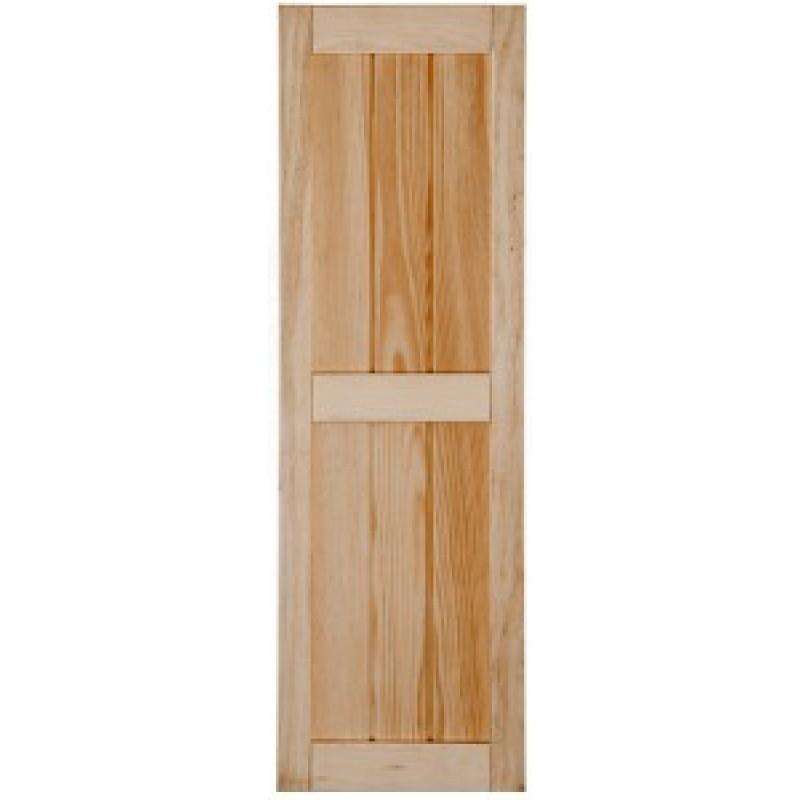 Framed board batten wood shutters - Framed board and batten exterior shutters ...